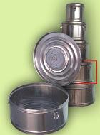 Бикс медицинский стерилизационный с фильтром КСКФ-12