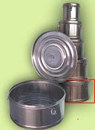 Бикс медицинский стерилизационный с фильтром КСКФ-18