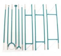Комлект электродов для гинекологии для ЭХВЧ Надия