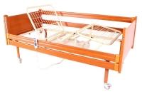 Кровать медицинская 4 секции деревянная с электроприводом OSD-91E