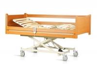 Кровать медицинская деревянная с электроприводом OSD«Natalie»-90 CM