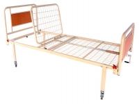 Кровать медицинская металлическая 2 секции на колесах OSD-93V+OSD-90V
