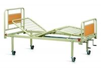 Кровать медицинская металлическая 3 секции на колесах OSD-94V+OSD-90V