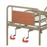 Кровать медицинская металлическая 3 секции OSD-94V