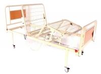 Кровать медицинская металлическая 4 секции на колесах с электроприводом OSD-91V+OSD-90V