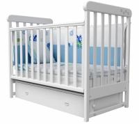 Кроватка детская ЛД 12 маятник