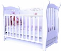 Кроватка детская ЛД 15 маятник