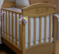 Кроватка детская ЛД 4 Зайка
