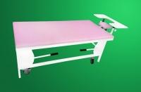 Кушетка офтальмологическая с колесами СО-1К