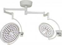 Лампа операционная потолочная двухкупольная ART-II 700/700
