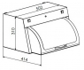Ультрафиолетовая камера Панмед-1М с стеклянной крышкой