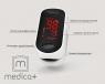 Пульсоксиметр на палец Medica plus cardio Control 4
