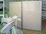 Ширма медицинская алюминиевая 2-х секционная 2KLN-1PO-1D-1950-1200