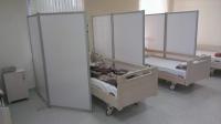 Ширма медицинская двухстворчатая для палат 2KLN-1PO-1550-900