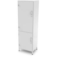 Шкаф медицинский одностворчатый с сейфом ШМ-М-М