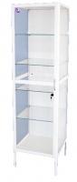 Шкаф медицинский одностворчатый ШМ-2