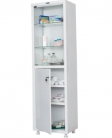 Шкаф медицинский ППШ-1МС1650