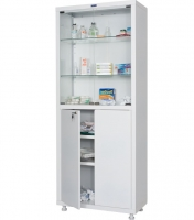 Шкаф медицинский ППШ-2МС1670