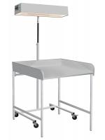 Облучатель для обогрева новорожденных с пеленальным столиком ЛВО-02