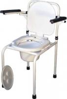 Складной стул-туалет с откидными подлокотниками ПТР СТОС-210
