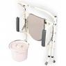 Складной усиленный стул-туалет OSD-RPM-68600