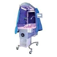 Стойка для реанимации новорожденных с обогревом и лампой фототерапии НО-АФ-КР-3