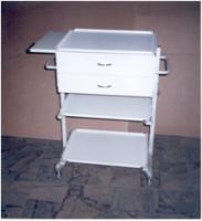Столик анестезиолога с окрашенными полками СА-1