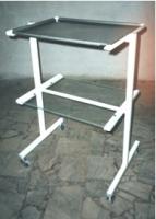 Столик инструментальный с нержавеющим лотком СИ-2