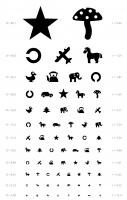 Таблица Орловой для проверки остроты зрения у детей