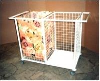 Тележка для транспортировки грязного и чистого белья ТГЧБ