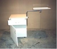 Тумбочка прикроватная со столиком надкроватным ТНС-1