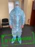 Костюм защитный одноразовый медицинский без маски
