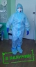 Медицинский защитный костюм с респиратором 3M FFP2